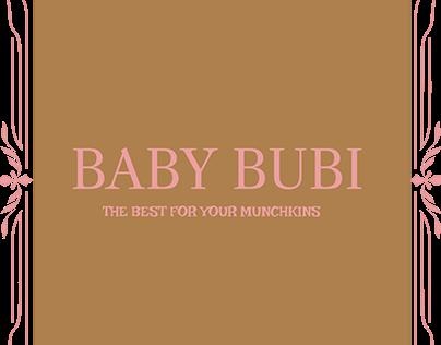 BABY BUBI LOGO FOR KIDS SHOPPING CENTRE