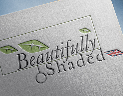 Beautifully Shaded Brand and Card