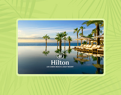 Hilton Los Cabos Resort - Re-design