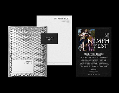 Nymph Fest - Event & Brand Identity