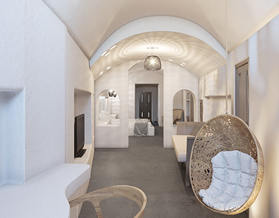 Cave apartment at Fira, Santorini