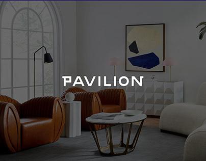 PAVILION Design Furniture Brand Identity