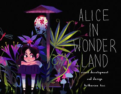 Alice in Wonderland Visual Development