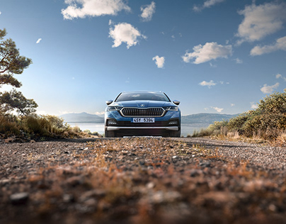 Škoda Octavia Scout - full CGI