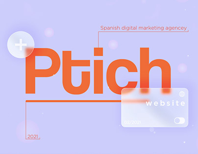 «Ptich» — spanish digital marketing agency.