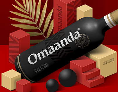 The Mysterious African wine... | Branding