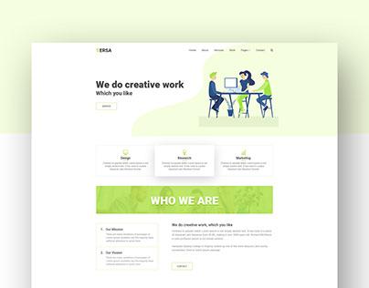 Versa - Corporate Company Website Template_V2