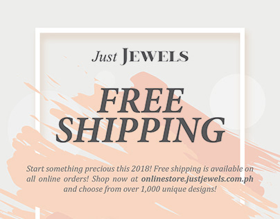 Free Shipping Promotional Flyer