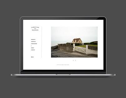 Webdesign photography website