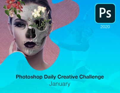 Photoshop Daily Creative Challenge - January