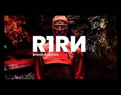 Brand Analysis R1RN