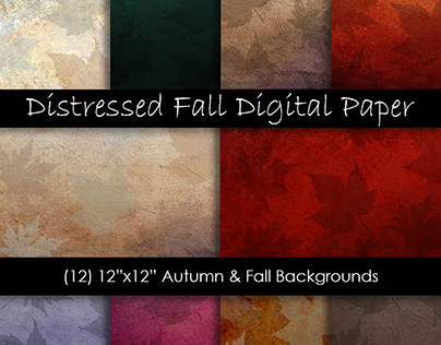 Distressed Fall Textures