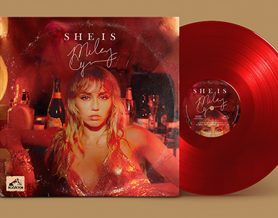 SHE IS MILEY CYRUS: The unreleased vinyl concept