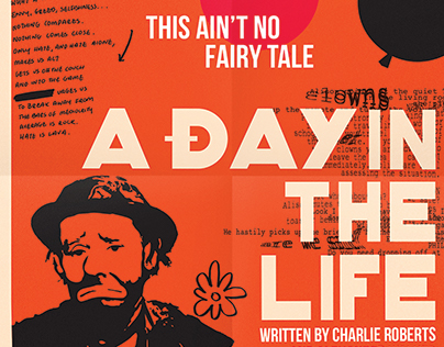 A Day in the Life - Film Poster (Freelance)