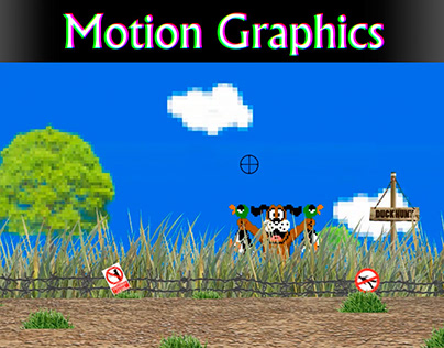 Duck Hunt - Motion Graphics