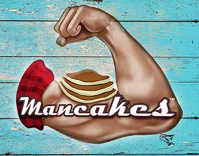 Branding and Logo Design - Mancakes