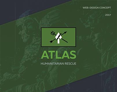 Atlas HR – Design & Prototyping for Landing Page