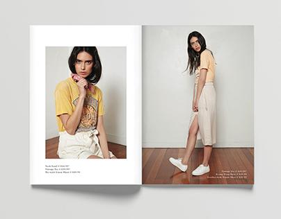 Soft Utility Look book - NZ Fashion week