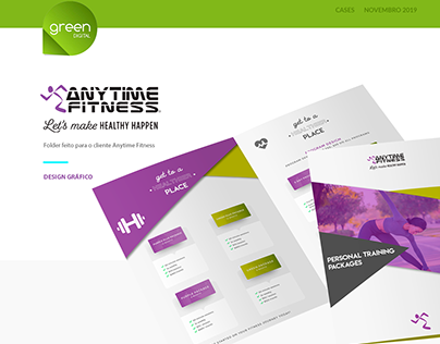 Anytime Fitness - Design Gráfico