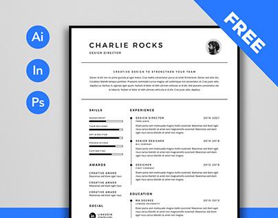 Free Resume (Simple)