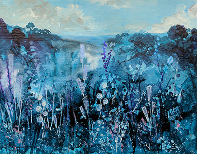 Blue are the Skies by Tracy Butler Art