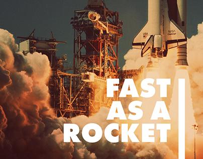 Rockay – Fast as a Rocket, Strong as a Rock!