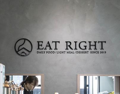 EAT RIGHT|確食 Branding