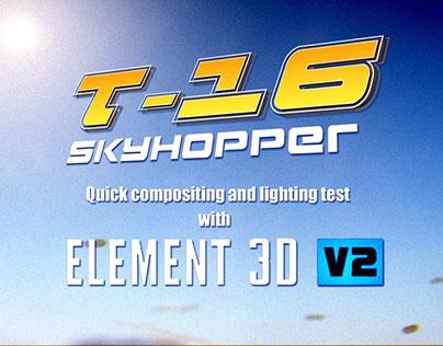 Star Wars T-16 Skyhopper - Element 3D 2.0