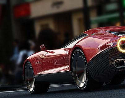 LEA2019 Alfa Romeo Concept car