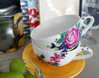 porcelain decoration design
