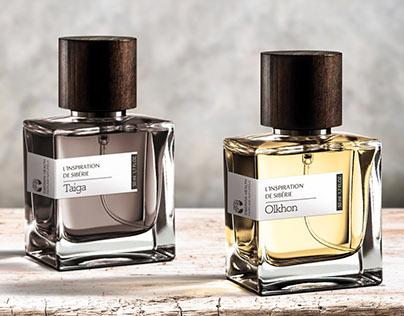 Perfume product shot