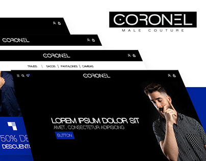 Coronel Couture Website
