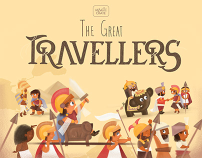 THE GREAT TRAVELLERS : STORYBOOK (Magic Crate)