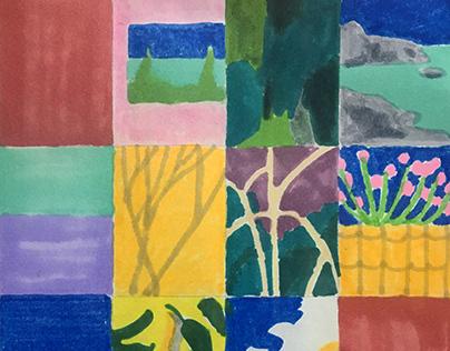 Landscape Mosaic, 2020