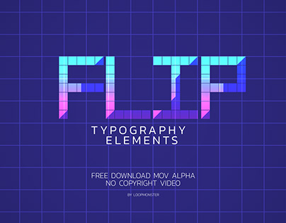 Typography elements A-Z Flip (COPY)