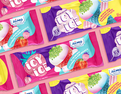 """""""Icy Ice"""" - ice cream packaging"""