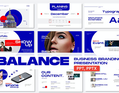 Balance Business Multipurpose Template