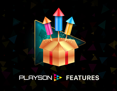 Playson Features Icons Design