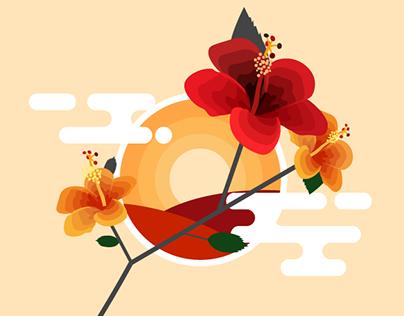 7-days flower themed design challenge