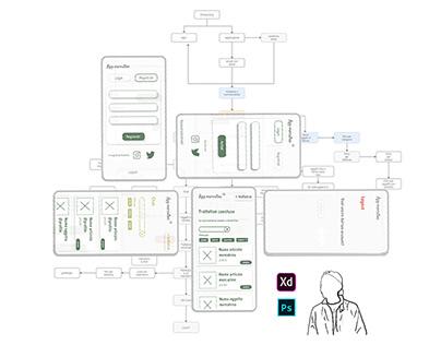 ux e ui project - app compravendita