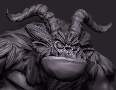 Monster - 3D Zbrush concept