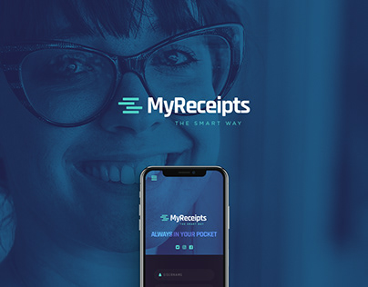 MyReceipts Corporate Identity Development