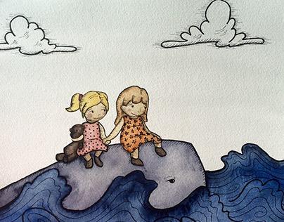 Illustrations for Artistas sin Fronteras