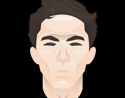Vector Head Portrait