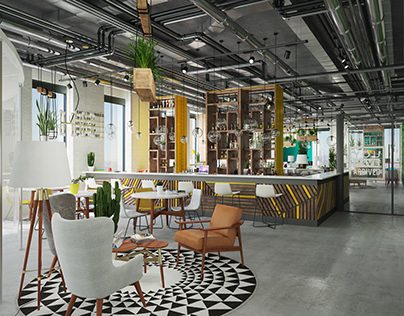 Society co-working space
