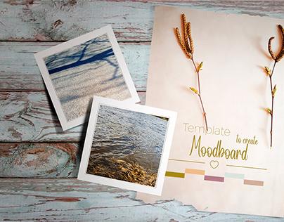 Wood Lover Moodboard Mockup