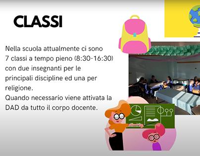Presentazione della scuola Giacomo Malvano