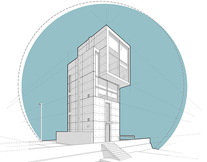 Tadao Ando 4x4 House
