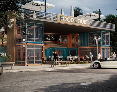 Containers Food Court