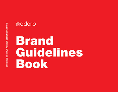 Brand Identity Design with Brand Guidelines Book